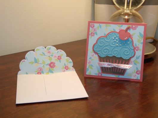 Cupcake - SFTN; Envelope with Liner - Wild Card